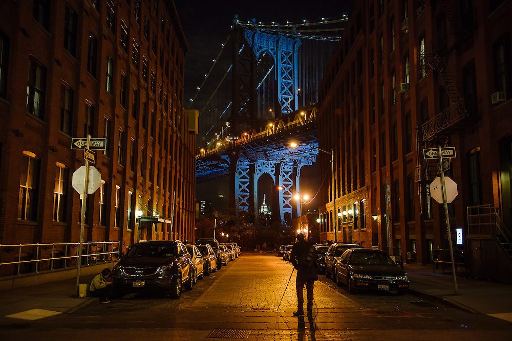 Manhattan-Bridge-Blue-Night