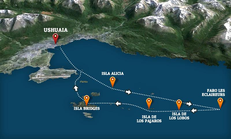 mapa-excursion-barco-ushuaia